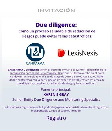 Due dilligence LexisNexis CANIFARMA